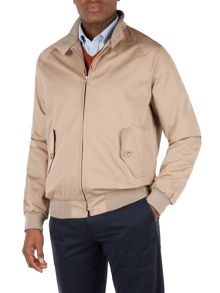 Formal Full Zip Harrington Jacket