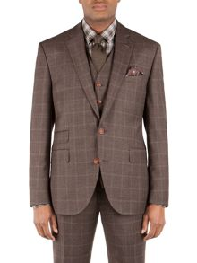 Wool Check Tailored fit Jacket