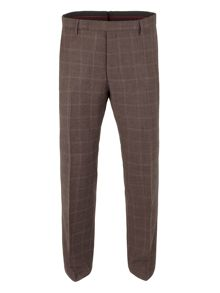 Woll Check tailored fit Trouser