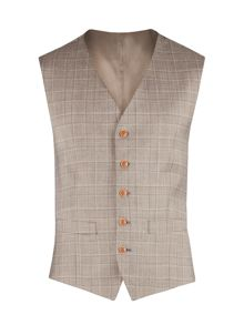 Gibson Check Tailored fit Waistcoat