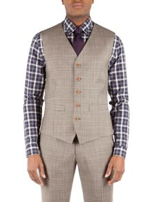 Check Tailored fit Waistcoat