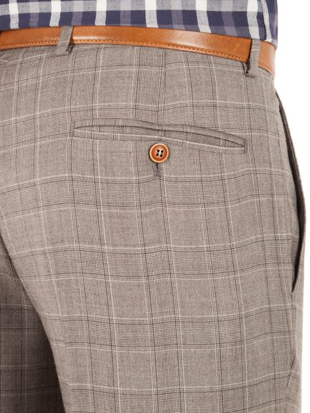 Gibson Check Tailored fit Trousers