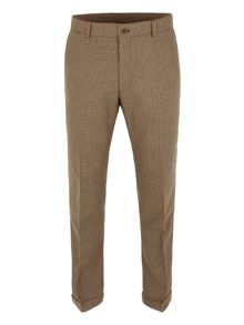 Gibson Doodson dog-tooth check trouser