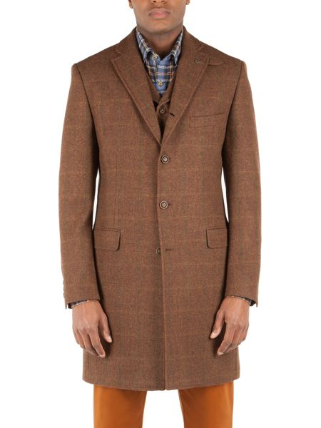 Gibson Long vinnie jacket with contrast collar