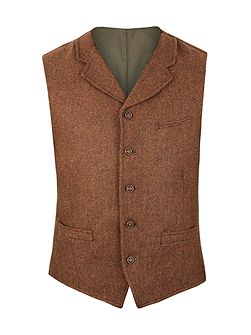 Tyburn vest with collar