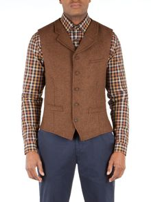 Gibson Tyburn vest with collar