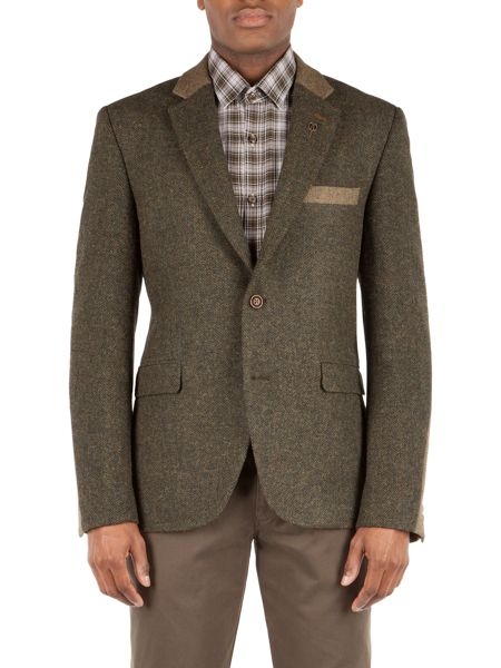 Gibson Moorgate jacket with contrast cloth