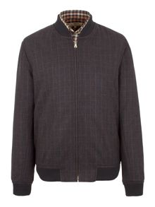 Gibson Check Bomber Jacket