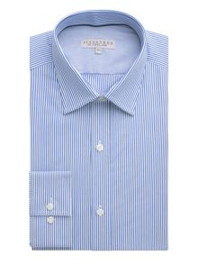 Alexandre of England Bengal stripe formal shirt