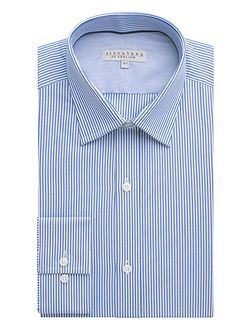 Bengal stripe formal shirt