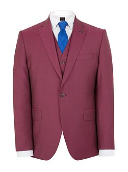 Raspberry churchill suit