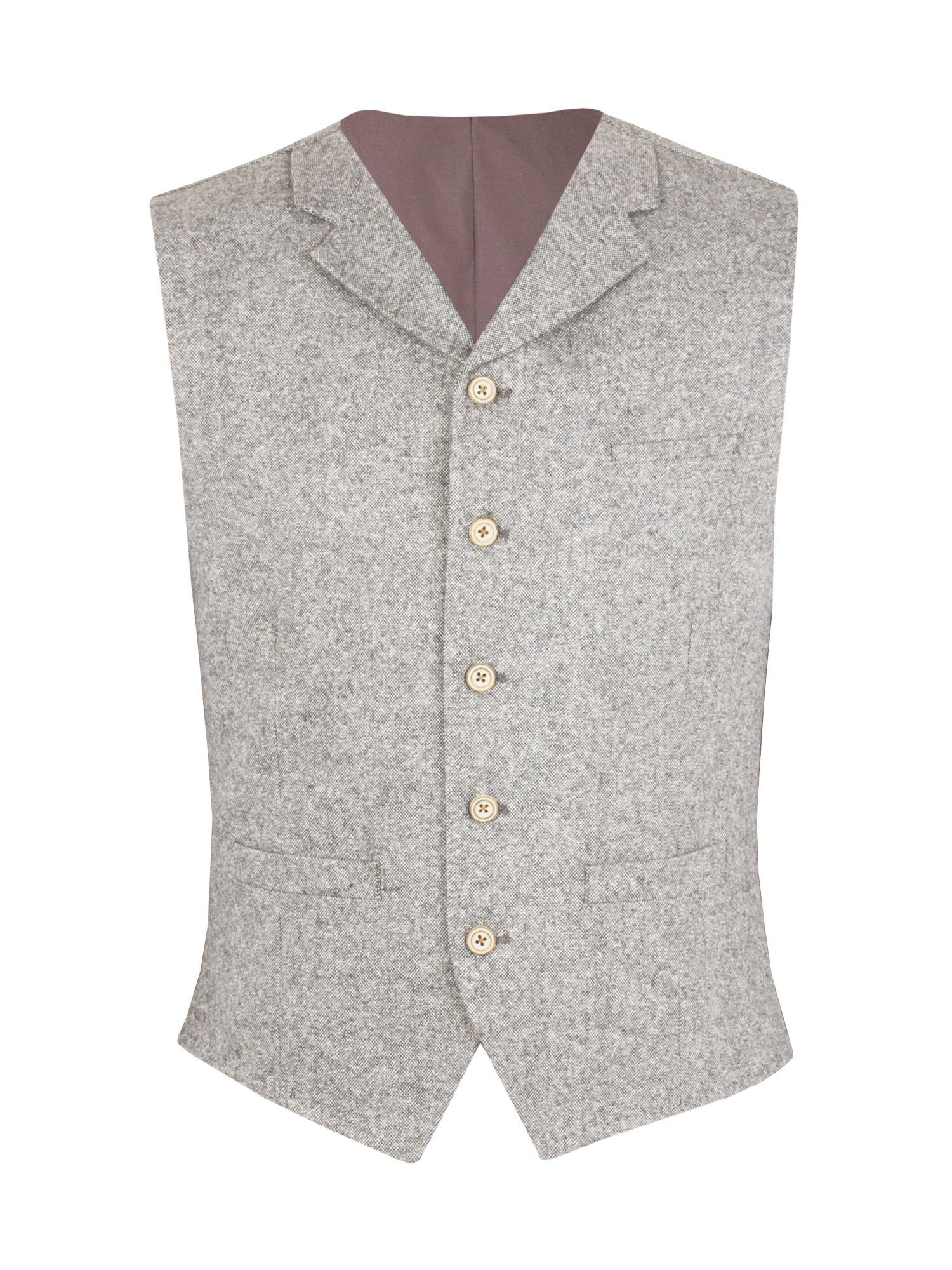 Men's Gibson O`donnell vest, Grey