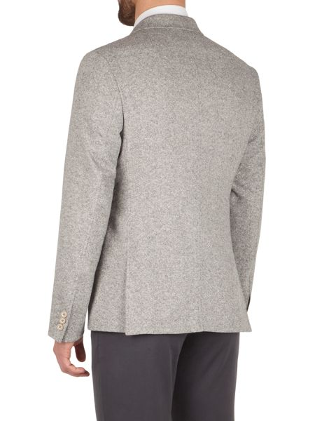 Gibson Light grey donegal jacket