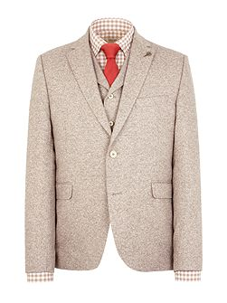 Stone donegal jacket