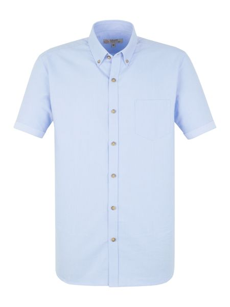 Gibson Plain white oxford shirt