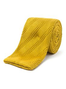Gibson Horizontal knitted tie
