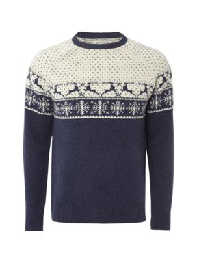 White Stuff Reindeer Jumper