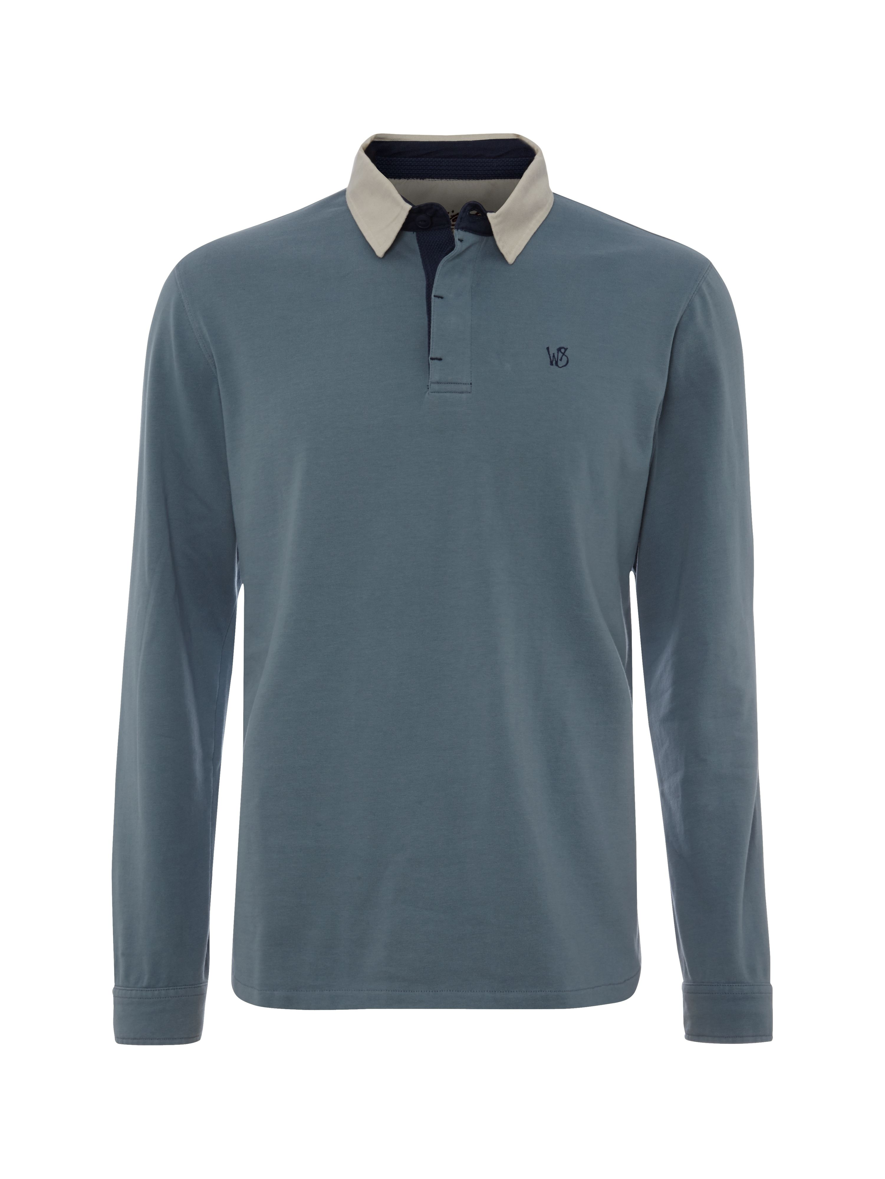 Flanker long sleeve polo sweat