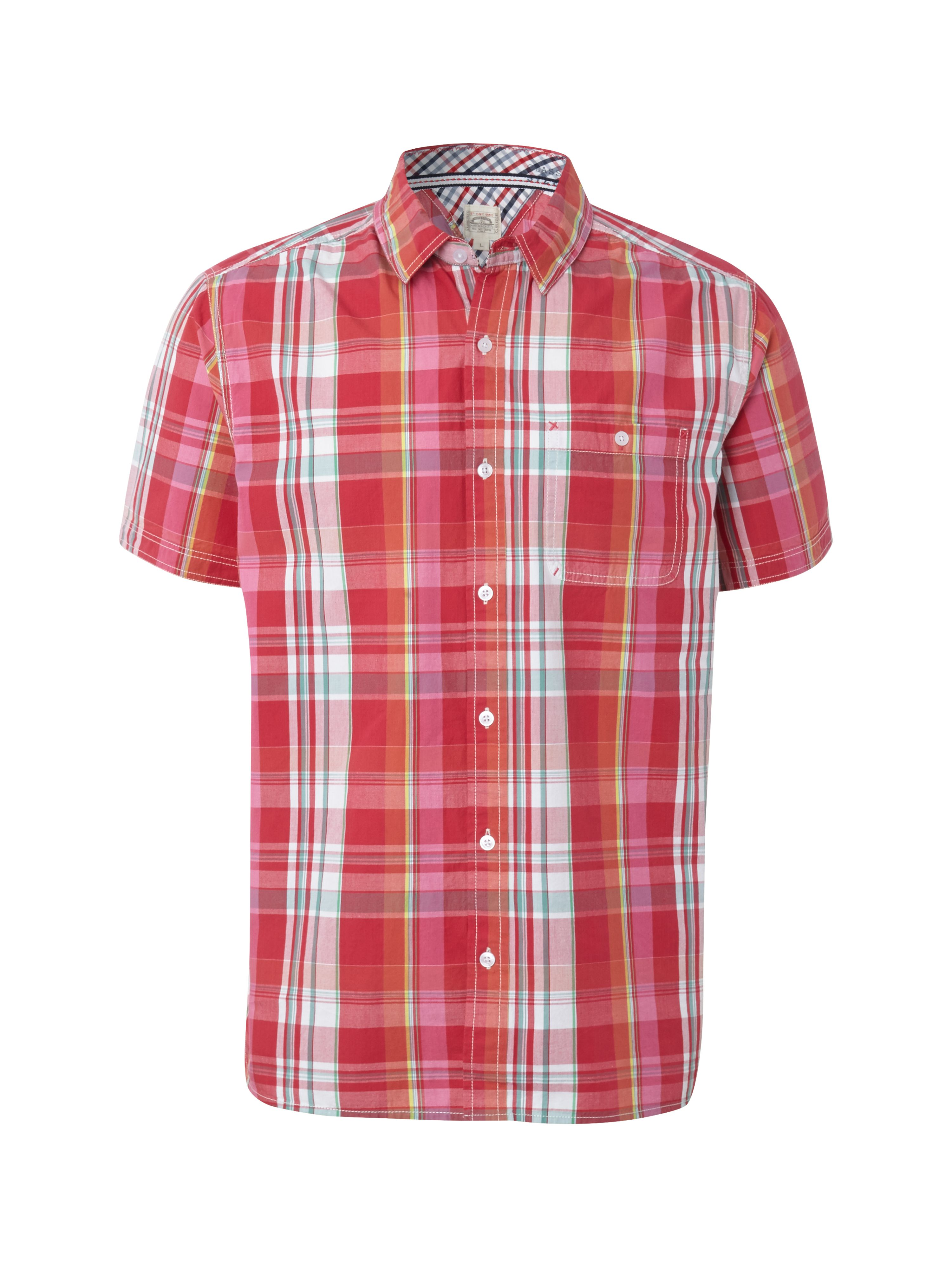Madras short sleeve shirt