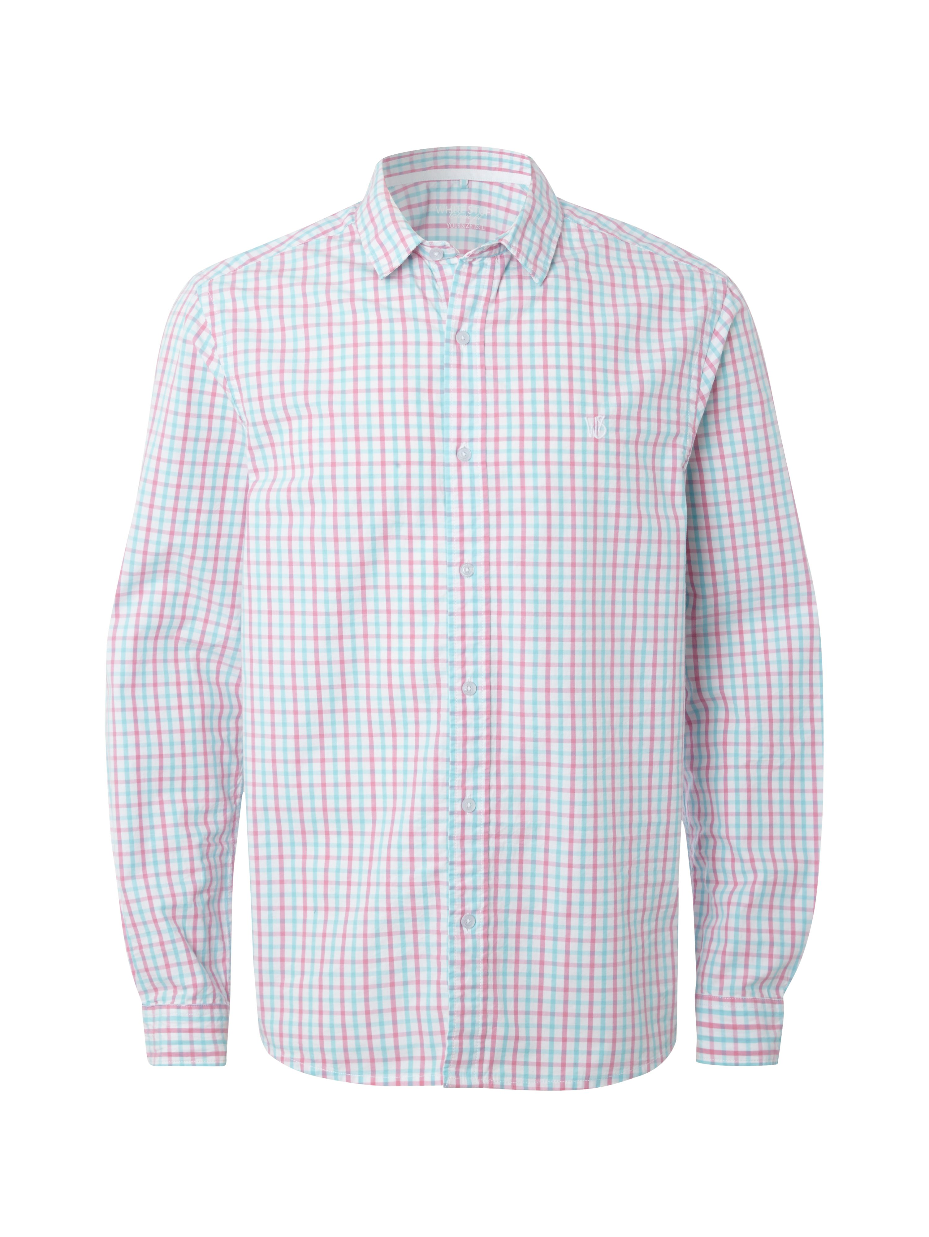 Heartland small check long sleeve shirt