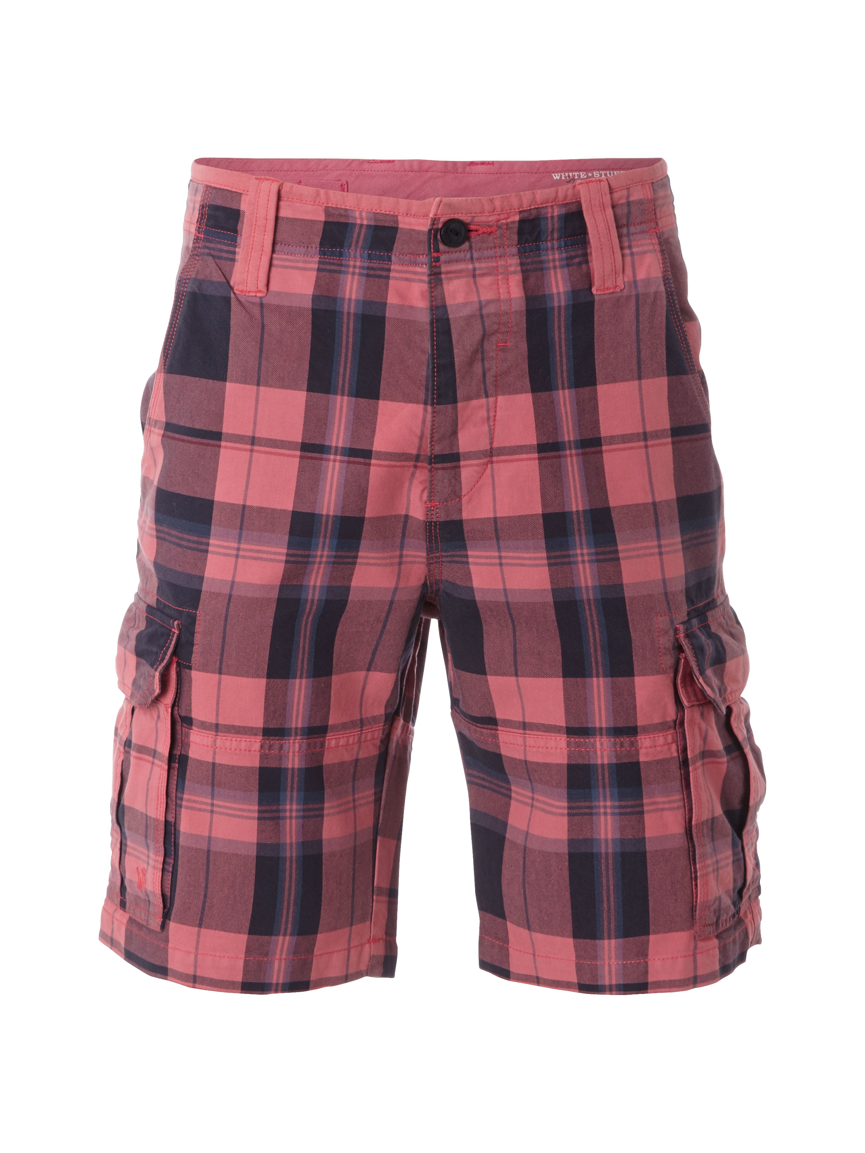 Rockface check shorts