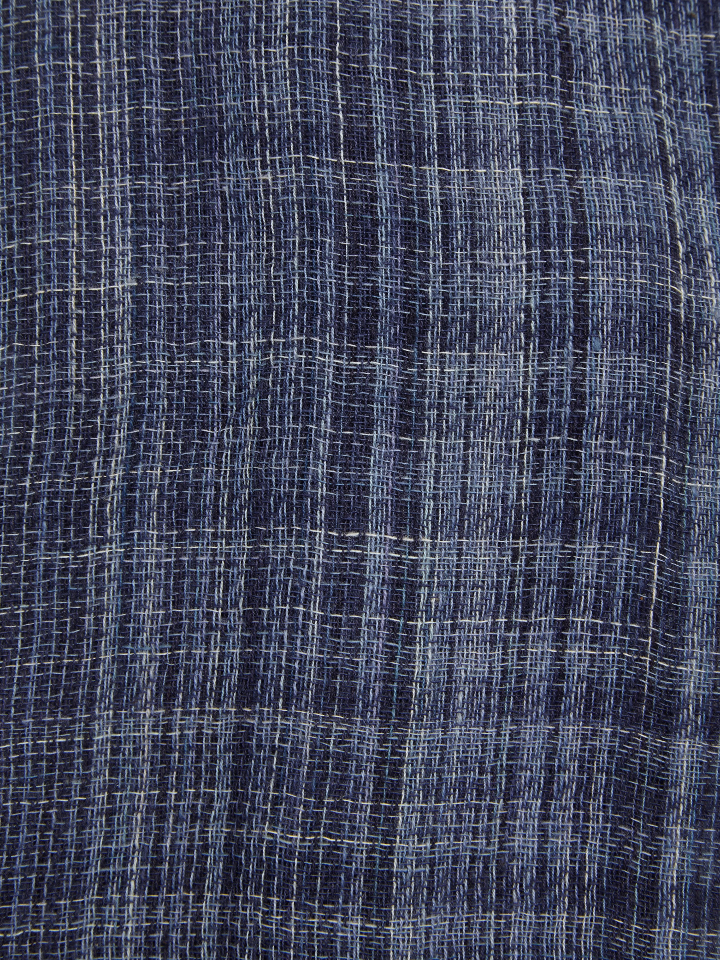 Mens plain check scarf