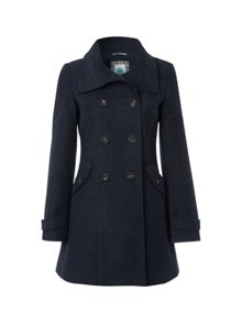 Roman Road Moleskin Coat