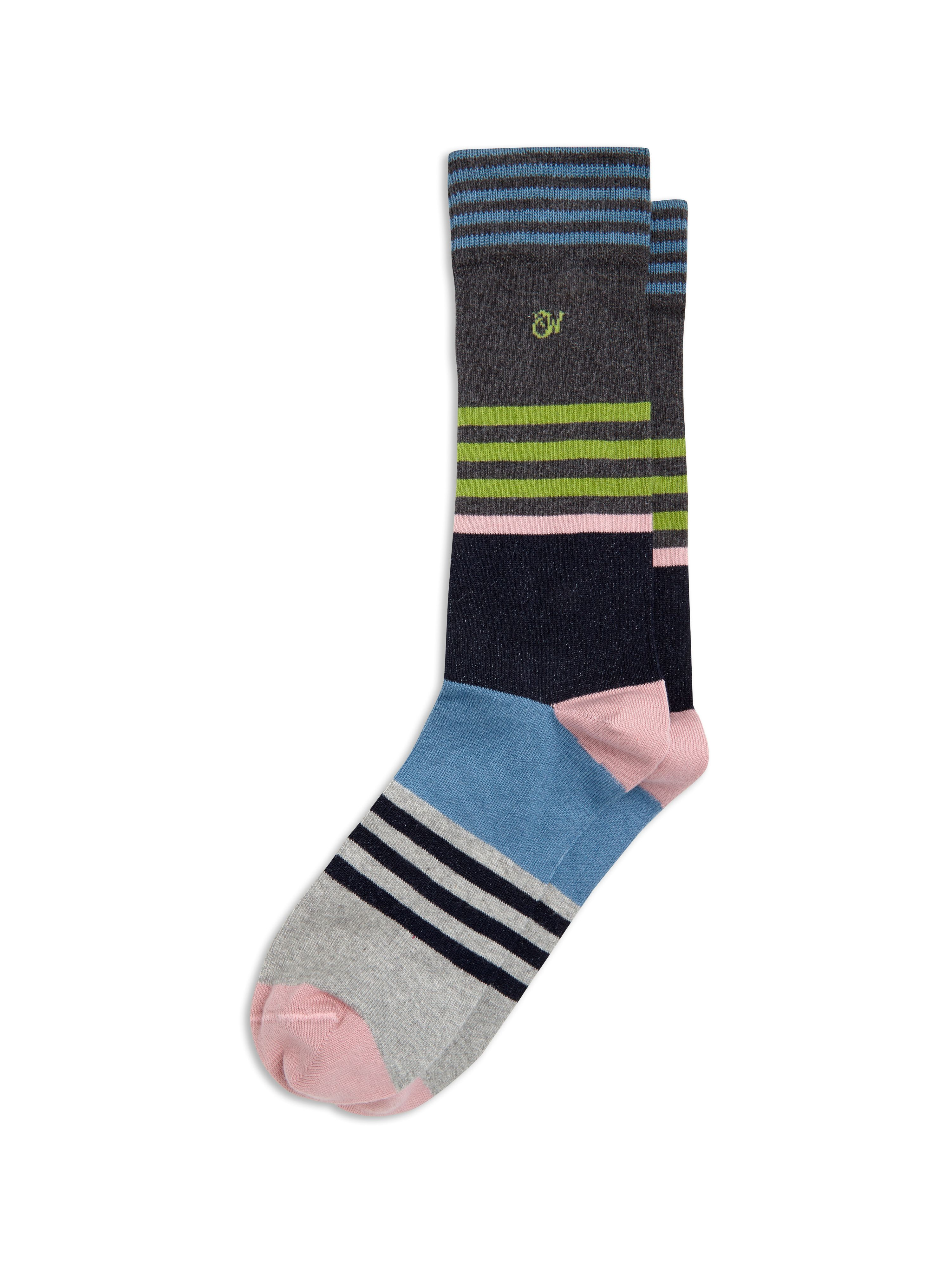 Franco stripe socks