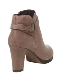 Maria Leather Heeled Boot