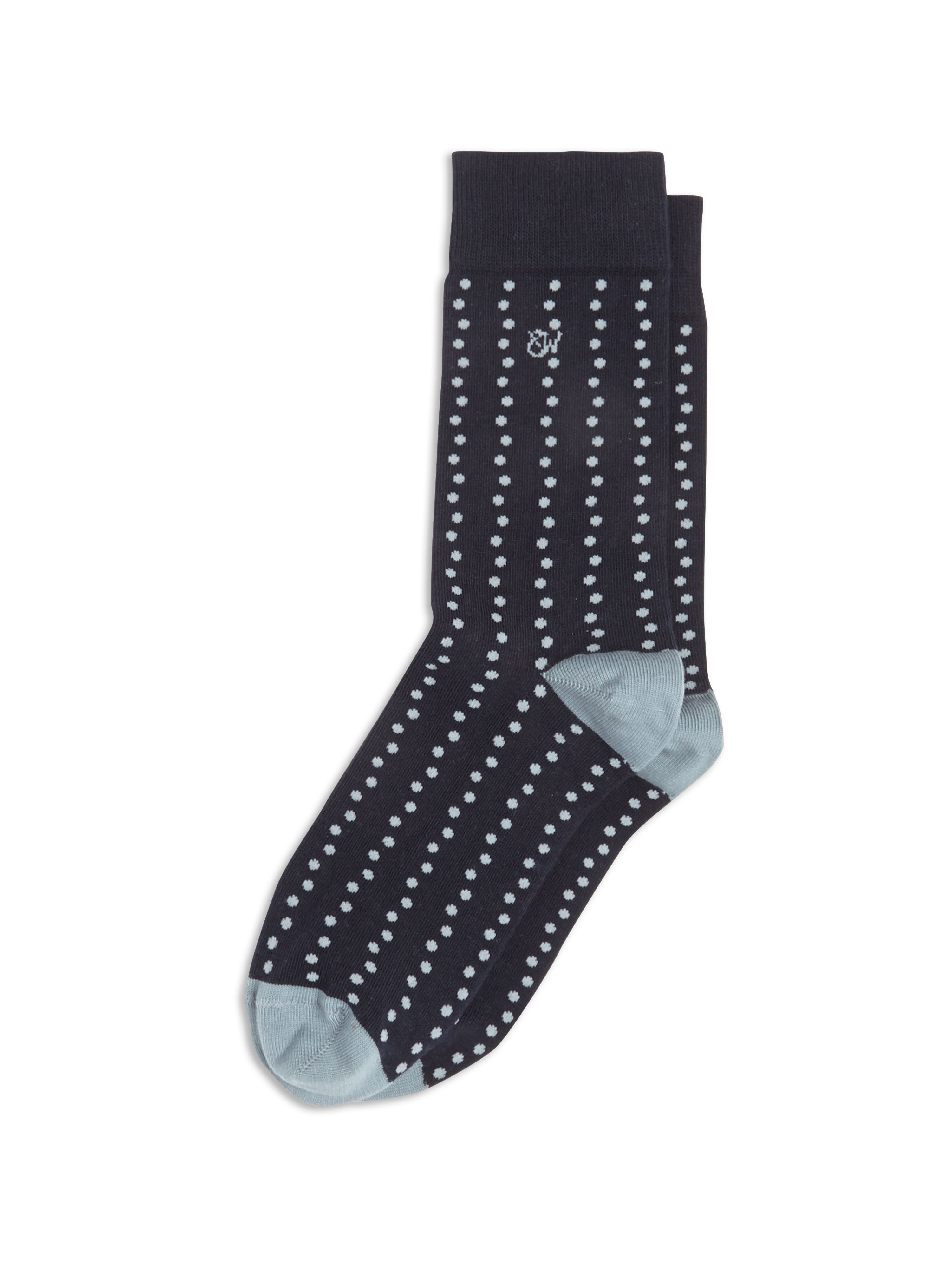 George spot socks