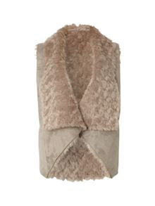 Filo Faux Fur Reversible Gilet