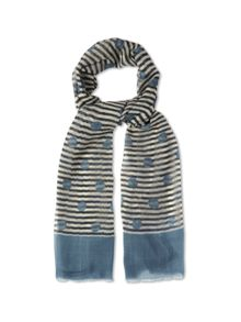 Spot On Stripe Scarf