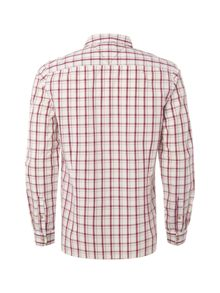 Grid Check Slim Fit Long Sleeve Shirt