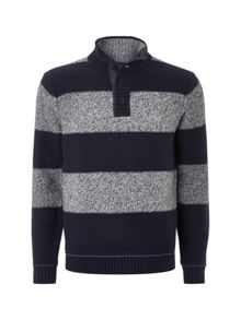 Twister Stripe Pull Over Jumper