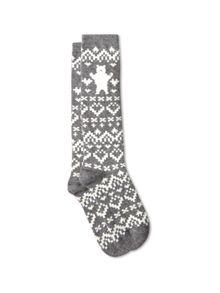 Long Polar Bear Sock