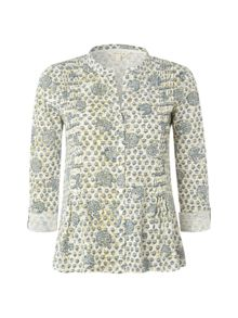 Ls Meadow Print Shirt