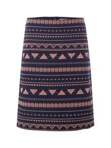 Islander Embroidered Skirt