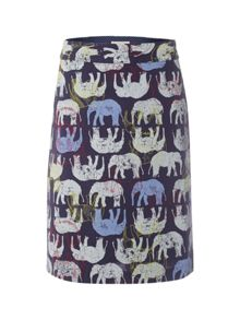 Ellie The Elephant Emb Skirt