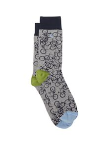 Patterned Dress Socks
