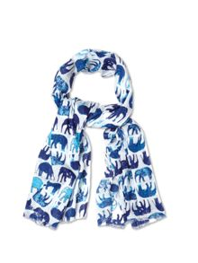 Elephants In A Line Scarf
