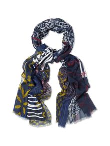 Collage Multi Print Scarf