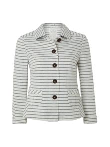 White Stuff Hanokataba stripe jacket