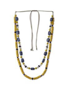 Stationed Bead Necklace