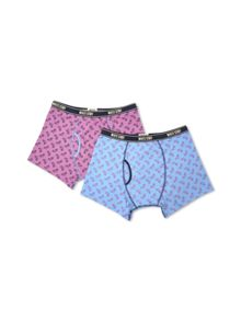 Pedal Patterned Boxer
