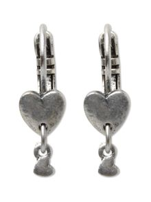 Colette Heart Drop Earring