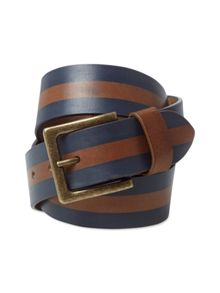 White Stuff Men`s stripe belt