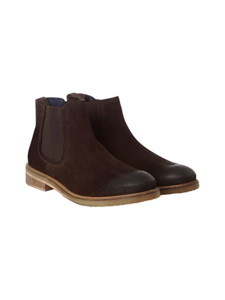 White Stuff Henry Suede Chelsea Boots