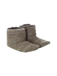 White Stuff Knitted bootie