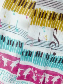 Musical People Scarf