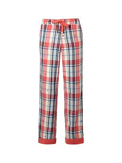 Blush Check Pj Bottom